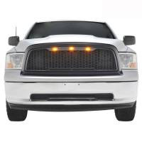 Paramount - 09-12 Dodge Ram 1500 Matte Black ABS LED Impulse Mesh Grille - Image 1