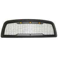 Paramount - 09-12 Dodge Ram 1500 Matte Black ABS LED Impulse Mesh Grille - Image 2