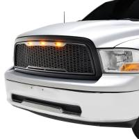 Paramount - 09-12 Dodge Ram 1500 Matte Black ABS LED Impulse Mesh Grille - Image 3