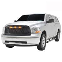 Paramount - 09-12 Dodge Ram 1500 Matte Black ABS LED Impulse Mesh Grille - Image 4
