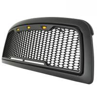 Paramount - 09-12 Dodge Ram 1500 Matte Black ABS LED Impulse Mesh Grille - Image 5