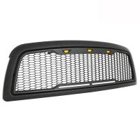 Paramount - 09-12 Dodge Ram 1500 Matte Black ABS LED Impulse Mesh Grille - Image 8