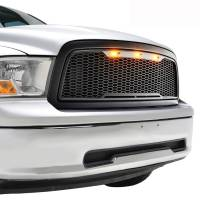 Paramount - 09-12 Dodge Ram 1500 Matte Black ABS LED Impulse Mesh Grille - Image 9