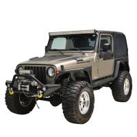 Paramount - 97-06 Jeep Wrangler TJ Edge Front Fender with LED Lights - Image 5