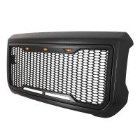 Paramount - 15-19 GMC Sierra 2500/3500 Matte Black ABS LED Impulse Mesh Grille - Image 3