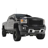 Paramount - 15-19 GMC Sierra 2500/3500 Matte Black ABS LED Impulse Mesh Grille - Image 5