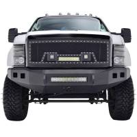 Paramount - 08-10 Ford SuperDuty Evolution Matte Black Stainless Steel Grille - Image 1
