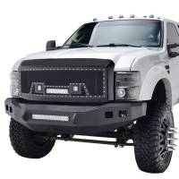 Paramount - 08-10 Ford SuperDuty Evolution Matte Black Stainless Steel Grille - Image 3