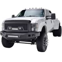 Paramount - 08-10 Ford SuperDuty Evolution Matte Black Stainless Steel Grille - Image 4