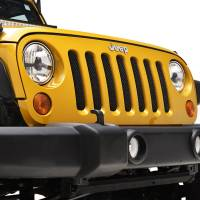 Paramount - 07-18 Jeep Wrangler JK Black Stainless Steel Wire Mesh Grille Insert - Image 9