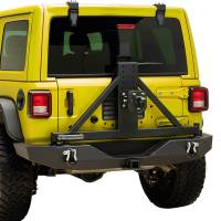 Paramount - 18-21 Jeep Wrangler JL Full-Width Rear Bumper with SureGrip Tire Carrier - Image 10