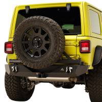 Paramount - 18-21 Jeep Wrangler JL Body Width Rear Bumper with SureGrip Tire Carrier - Image 4