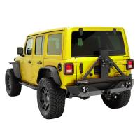 Paramount - 18-21 Jeep Wrangler JL Body Width Rear Bumper with SureGrip Tire Carrier - Image 8