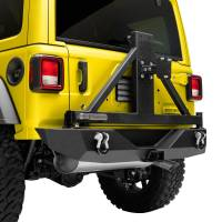 Paramount - 18-21 Jeep Wrangler JL Body Width Rear Bumper with SureGrip Tire Carrier - Image 10