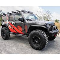 Paramount - 18-21 Jeep Wrangler JL Gen2 Tri-Tube Rock Sliders (4 Door) - Image 3