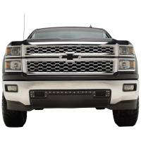 Paramount - 14-15 Chevy Silverado 1500 Evolution Black Stainless Steel Bumper Grille - Image 1