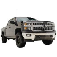 Paramount - 14-15 Chevy Silverado 1500 Evolution Black Stainless Steel Bumper Grille - Image 7