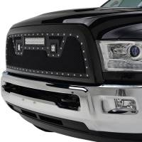 Paramount - 13-18 Dodge Ram 2500/3500 Evolution Matte Black Stainless Steel Grille - Image 3