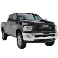 Paramount - 13-18 Dodge Ram 2500/3500 Evolution Matte Black Stainless Steel Grille - Image 7