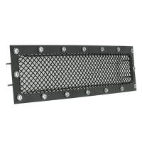 Paramount - 15-19 Ford F150 Evolution Black Stainless Steel Bumper Overlay Grille - Image 4