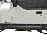 Paramount - 87-96 Jeep Wrangler YJ Rocker Guard with Step - Image 1