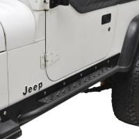 Paramount - 87-96 Jeep Wrangler YJ Rocker Guard with Step - Image 5