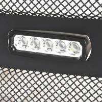 Paramount - 17-19 Ford F-250/F-350 Evolution Matte Black Stainless Steel Grille - Image 4