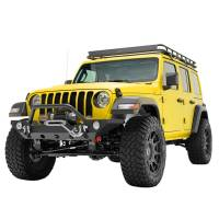 Paramount - 18-21 Jeep Wrangler JL/JT Mid-Width Front Bumper with OE Fog Light Provision - Image 5