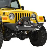 Paramount - 87-06 Jeep Wrangler TJ/YJ Mid-Width Front Bumper - Image 9