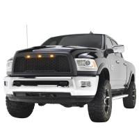 Paramount - 10-12 Dodge Ram 2500/3500 Matte Black ABS LED Impulse Mesh Grille - Image 5
