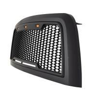 Paramount - 10-12 Dodge Ram 2500/3500 Matte Black ABS LED Impulse Mesh Grille - Image 6