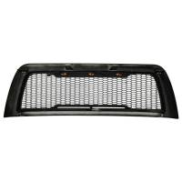 Paramount - 10-12 Dodge Ram 2500/3500 Matte Black ABS LED Impulse Mesh Grille - Image 7