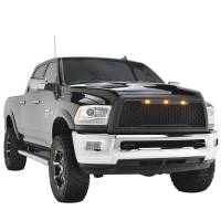 Paramount - 10-12 Dodge Ram 2500/3500 Matte Black ABS LED Impulse Mesh Grille - Image 8