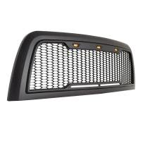 Paramount - 10-12 Dodge Ram 2500/3500 Matte Black ABS LED Impulse Mesh Grille - Image 9