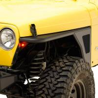 Paramount - 97-06 Jeep Wrangler TJ Front Armor Fender Flares with LED Lights - Image 8