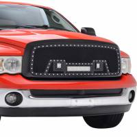 Paramount - 02-05 Dodge Ram 1500/03-05 2500/3500 Evolution Matte Black Stainless Steel Grille - Image 7
