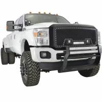 Paramount - 11-16 Ford SuperDuty F-250/350/450/550 Evolution Matte Black Stainless Steel Grille - Image 6