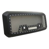 Paramount - 11-16 Ford SuperDuty F-250/350/450/550 Evolution Matte Black Stainless Steel Grille - Image 7