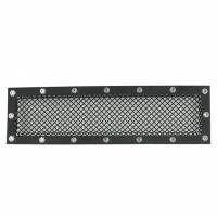 Paramount - 15-19 Ford F150 Evolution Black Stainless Steel Bumper Overlay Grille - Image 1