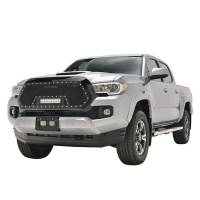 Paramount - 16-19 Toyota Tacoma Evolution Matte Black Stainless Steel Grille - Image 4