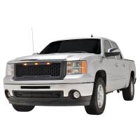 Paramount - 07-13 GMC Sierra 1500 Matte Black ABS LED Impulse Mesh Grille - Image 4