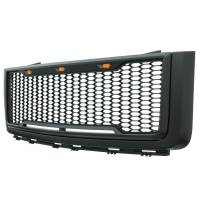 Paramount - 07-13 GMC Sierra 1500 Matte Black ABS LED Impulse Mesh Grille - Image 5