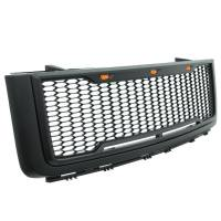 Paramount - 07-13 GMC Sierra 1500 Matte Black ABS LED Impulse Mesh Grille - Image 8