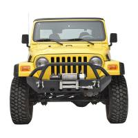 Paramount - 87-06 Jeep Wrangler TJ/YJ Stubby Front Bumper - Image 1