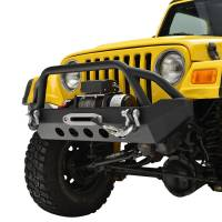 Paramount - 87-06 Jeep Wrangler TJ/YJ Stubby Front Bumper - Image 3
