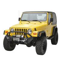 Paramount - 87-06 Jeep Wrangler TJ/YJ Stubby Front Bumper - Image 4