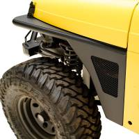 Paramount - 97-06 Jeep Wrangler TJ Front Armor Fender Flares with LED Lights - Image 3