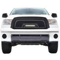 Paramount - 07-09 Toyota Tundra Evolution Matte Black Stainless Steel Grille - Image 1
