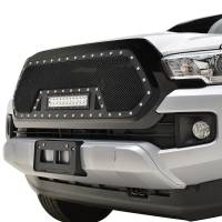 Paramount - 16-19 Toyota Tacoma Evolution Matte Black Stainless Steel Grille - Image 3