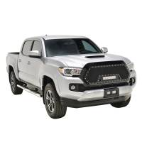 Paramount - 16-19 Toyota Tacoma Evolution Matte Black Stainless Steel Grille - Image 6